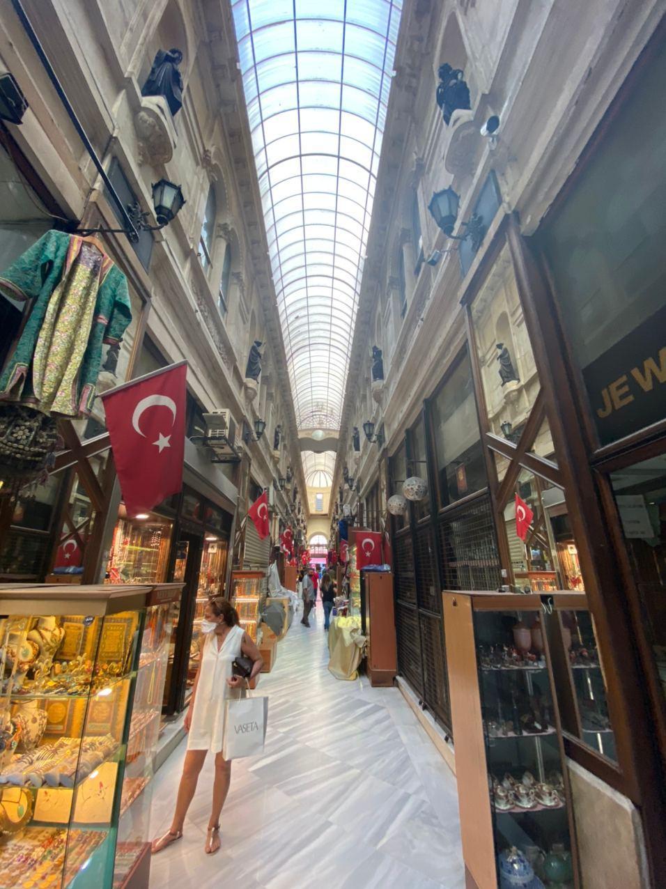 Один из рынков Стамбула. Фото © LIFE
