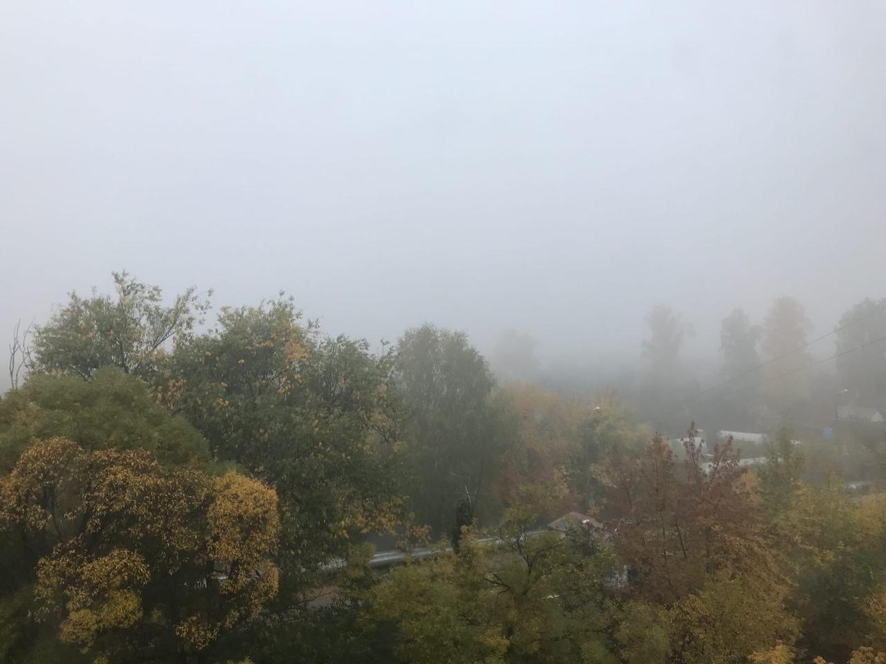 Сайлент-Хилл по-уральски. Челябинск в последний день сентября накрыло густым туманом