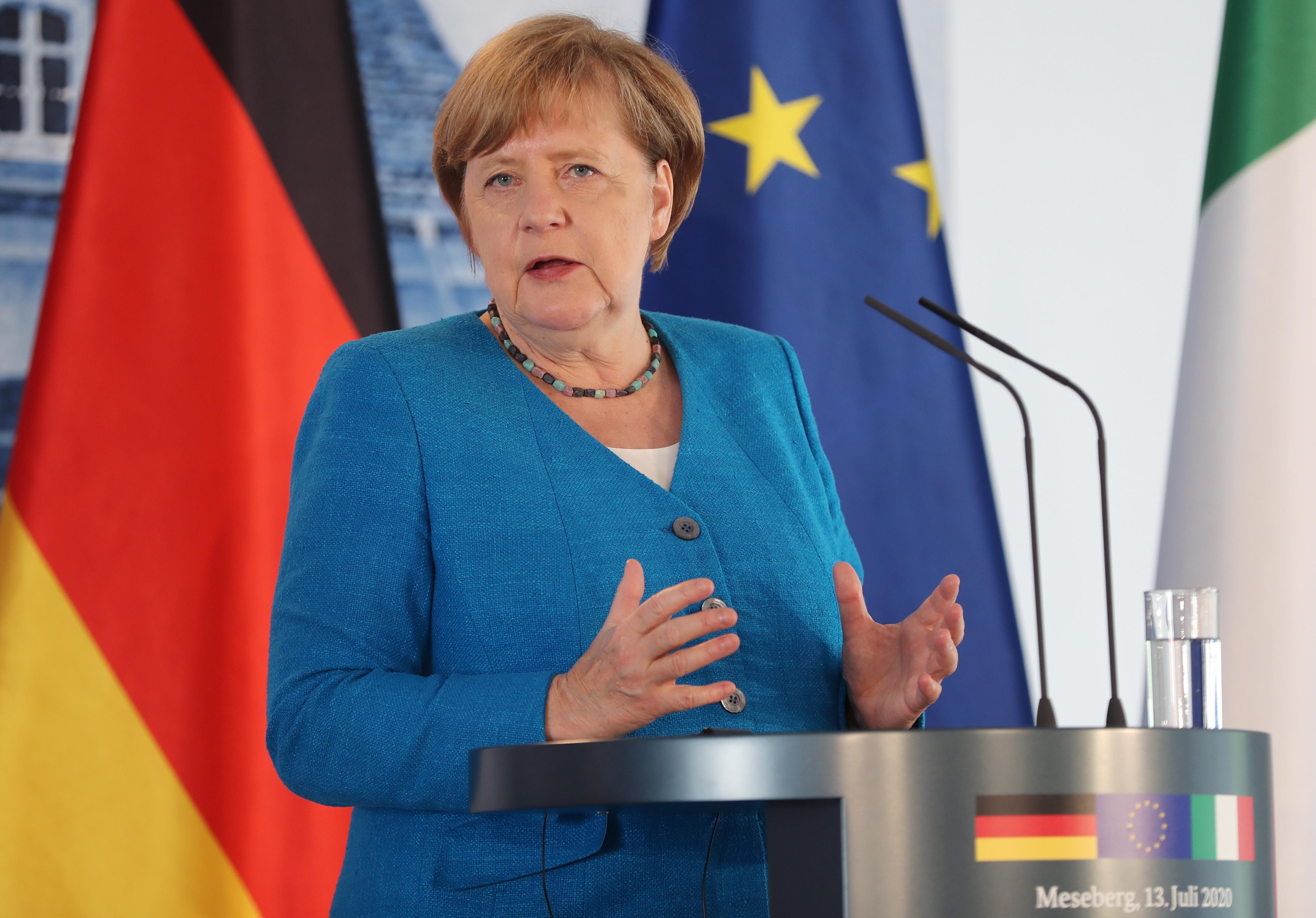 Меркель заявила, что ФРГ не признаёт легитимность Лукашенко