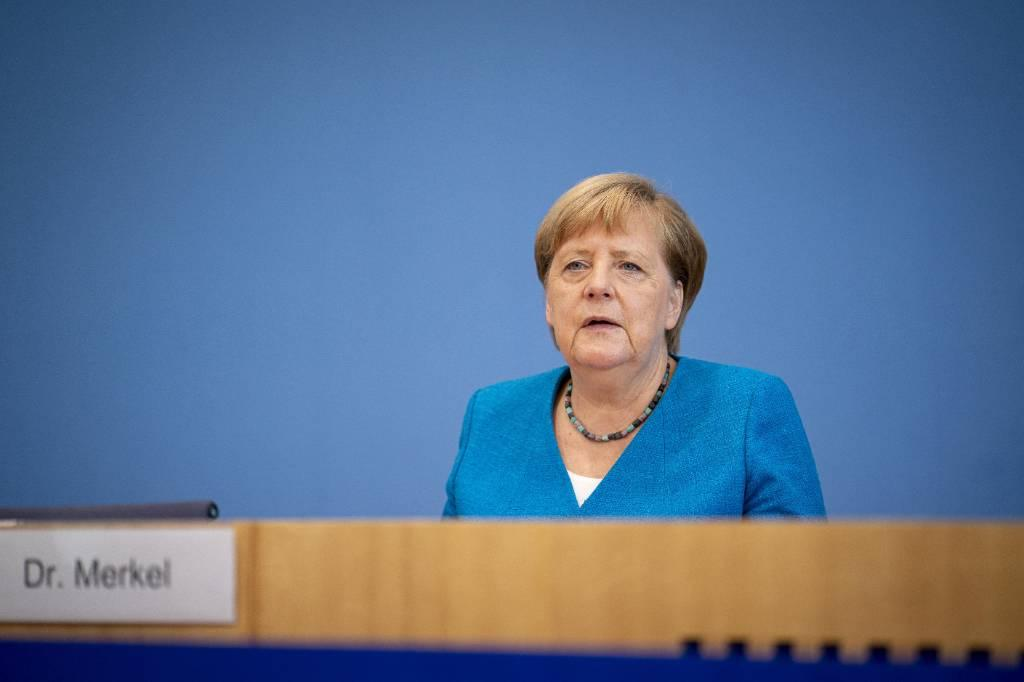 <p>Канцлер Германии Ангела Меркель. Фото © ТАСС / EPA / HENNING SCHACHT</p>