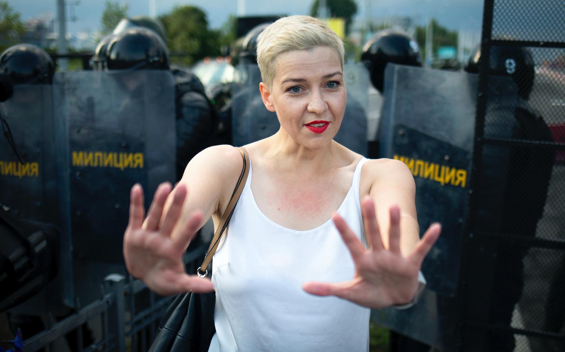 <p>Мария Колесникова. Фото © AP / ТАСС</p>