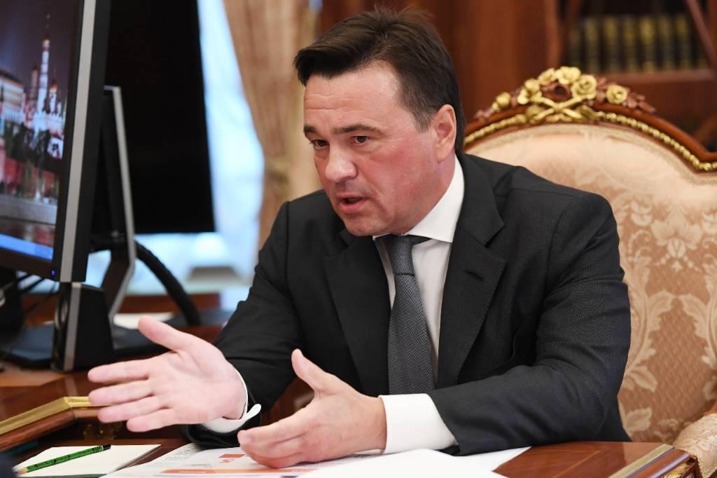 <p>Губернатор Московской области Андрей Воробьёв. Фото © ТАСС / Алексей Никольский</p>
