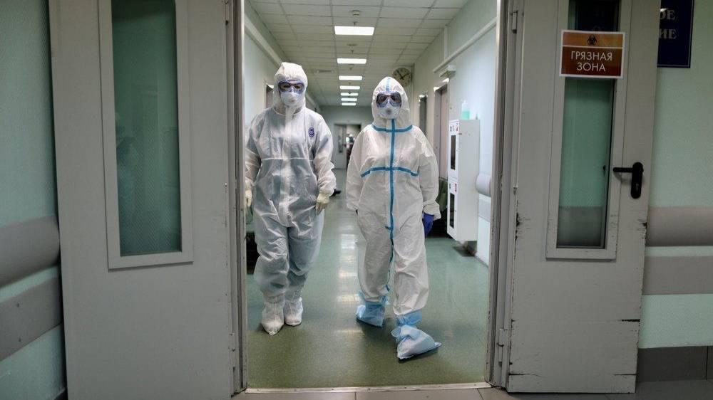 Власти российского региона объявили о нехватке медиков для борьбы с коронавирусом