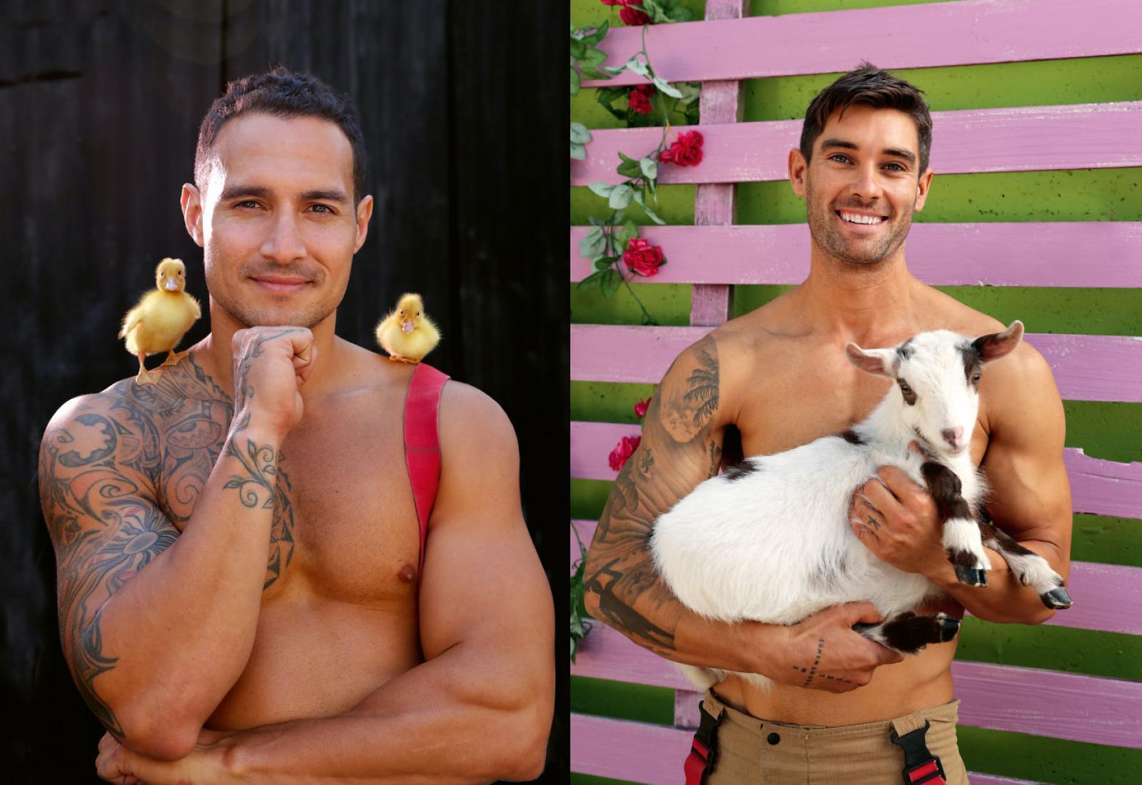 Фото © Facebook / Australian Firefighters Calendar