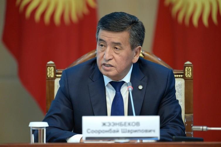 "<p>Сооронбай Жээнбеков. Фото © <a href=""http://www.president.kg/ru"" target=""_blank"" rel=""noopener noreferrer"">Пресс-служба Президента Киргизии</a></p>"