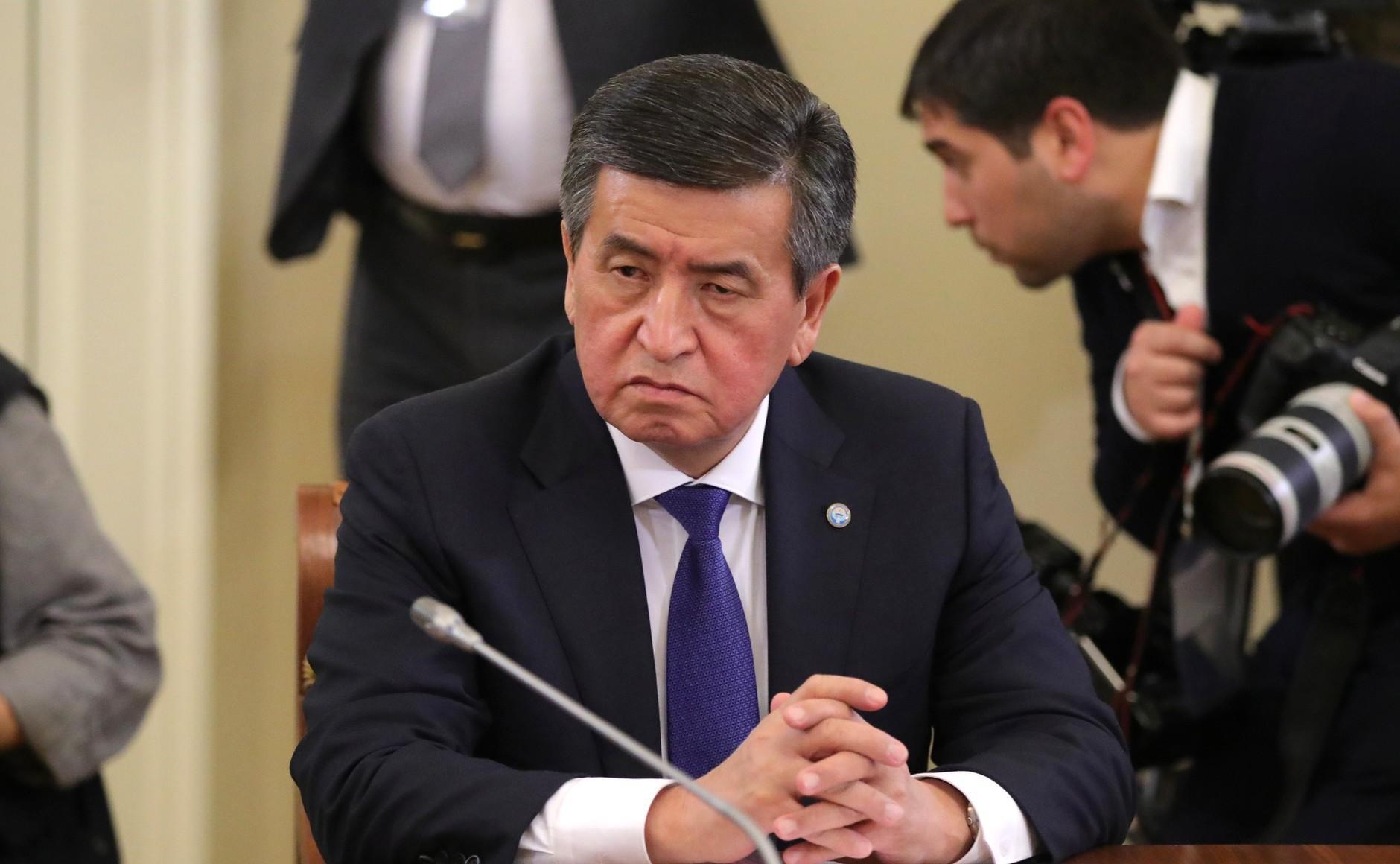 <p>Пятый президент Киргизии Сооронбай Жээнбеков. Фото © Kremlin</p>