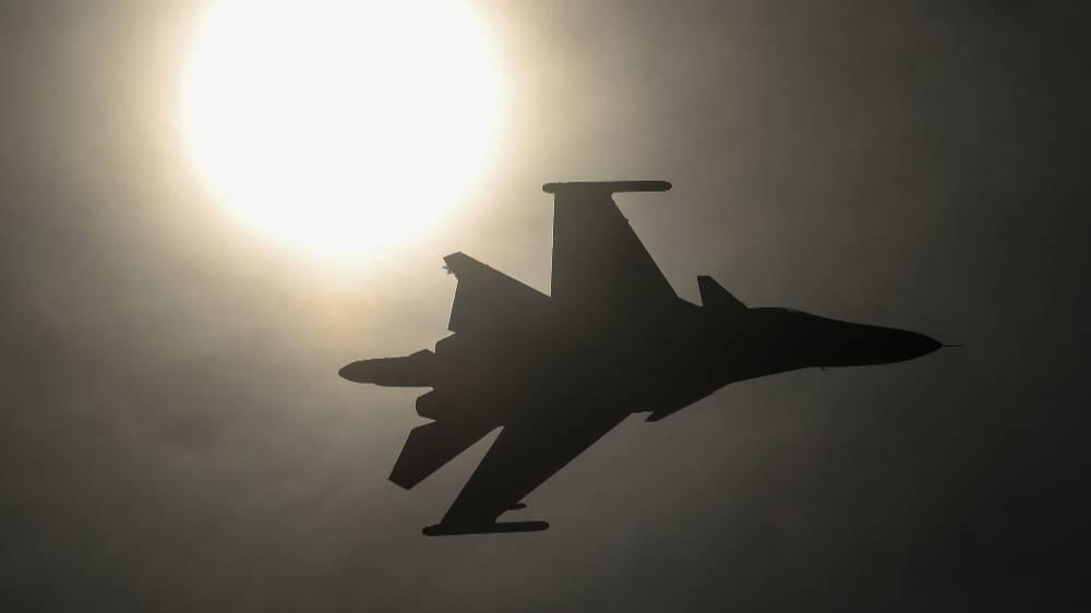 Истребитель Су-34 потерпел крушение в Хабаровском крае