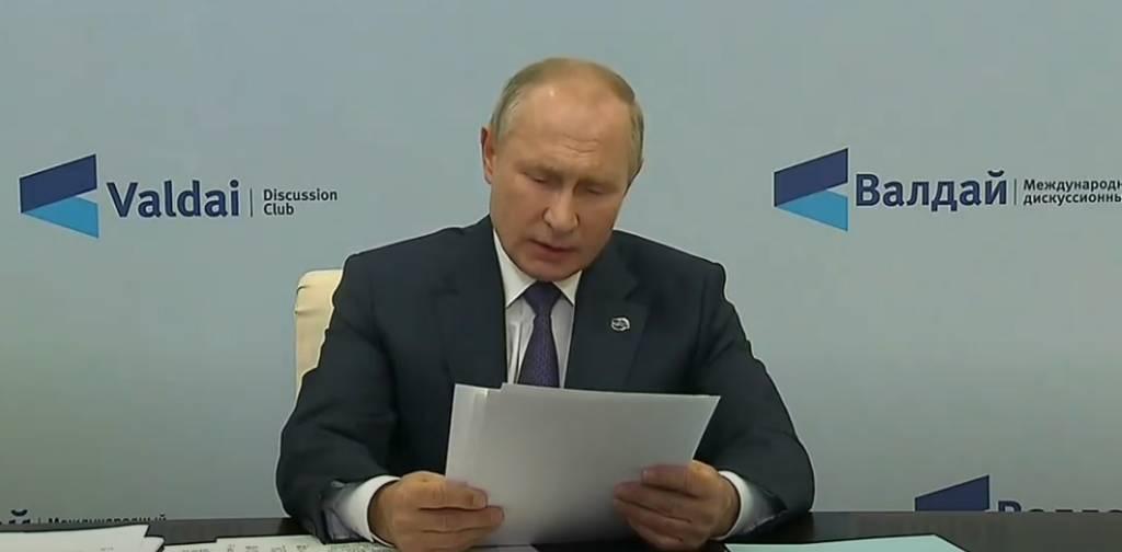 Путин заявил о невозможности импортировать гражданское общество