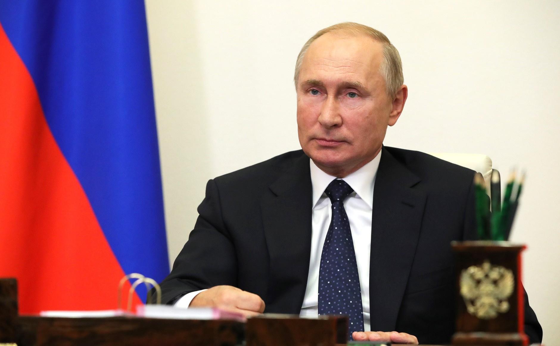 Путин выразил надежду, что мир сможет отказаться от эгоизма и алчности