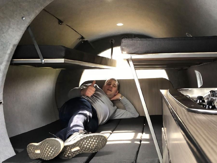 Фото © Facebook / The VC10 caravan pod