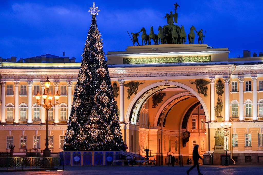 Решено, какой будет новогодняя ёлка Санкт-Петербурга