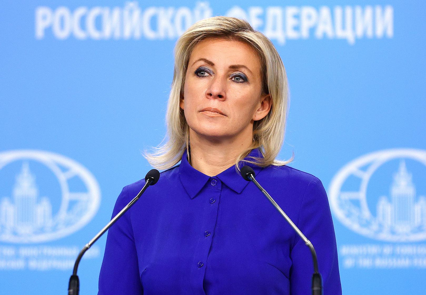 """Захарова резко ответила на слова генерала НАТО о России-""""противнике"""""""