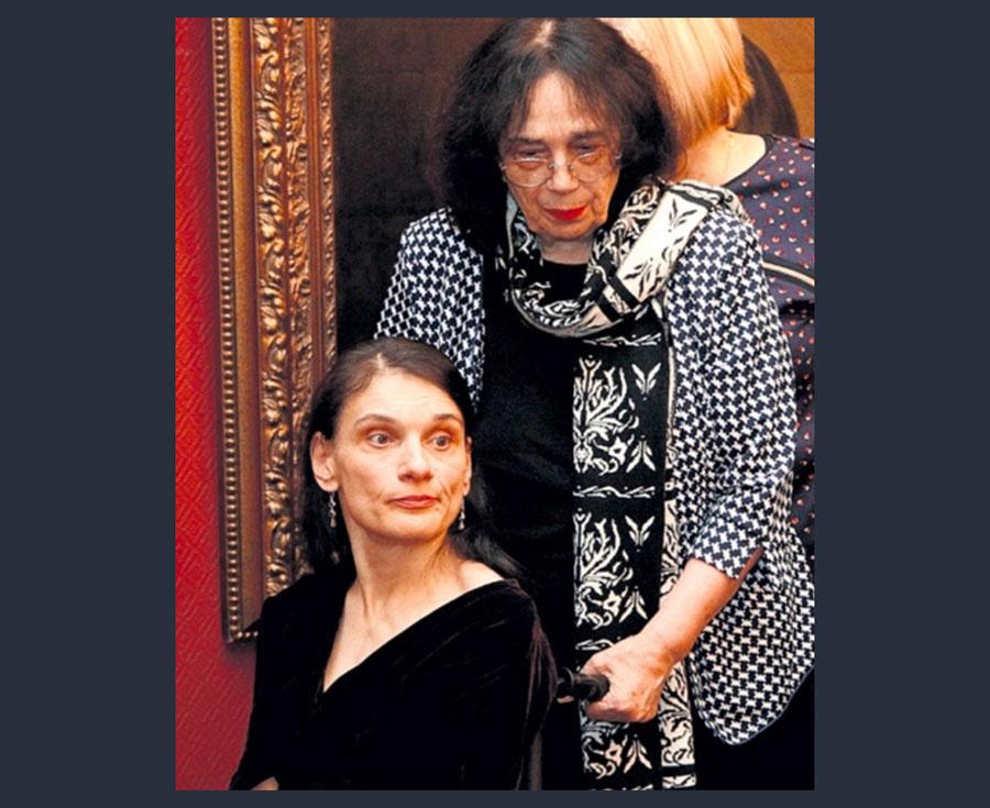 Гитана Леонтенко с дочерью Марией. Фото © Культурология