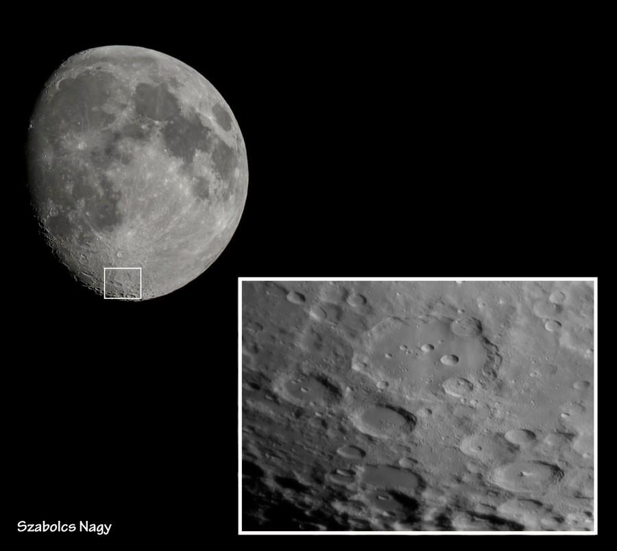Лунный кратер Клавий. Фото ©Flickr / Szabolcs Nagy
