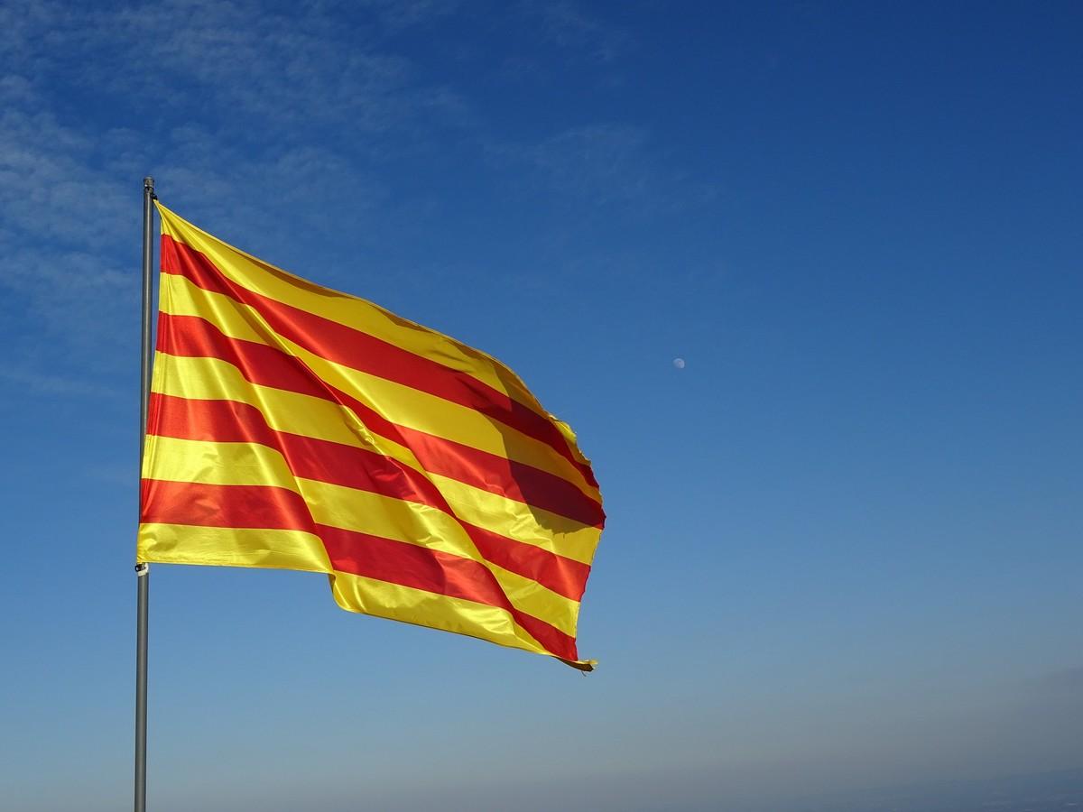 <p>Флаг Каталонии. Фото © Pixabay</p>