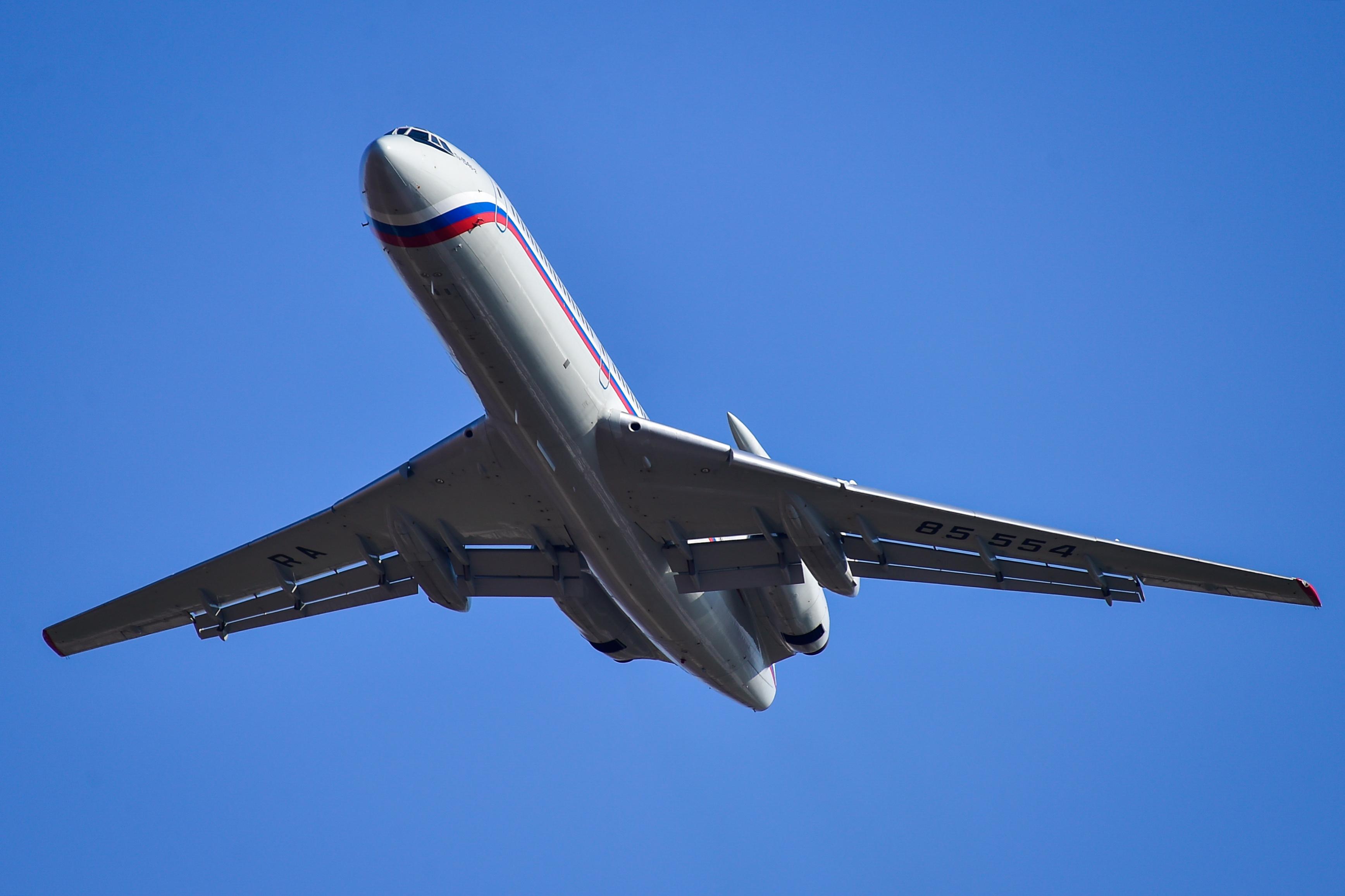 Советский авиалайнер Ту-154 совершил последний гражданский перелёт в России