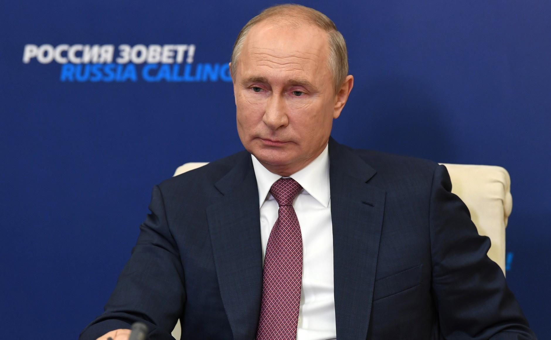 """""""Прицепятся к чему угодно"""". Путин отказался затрагивать тему выборов в США"""