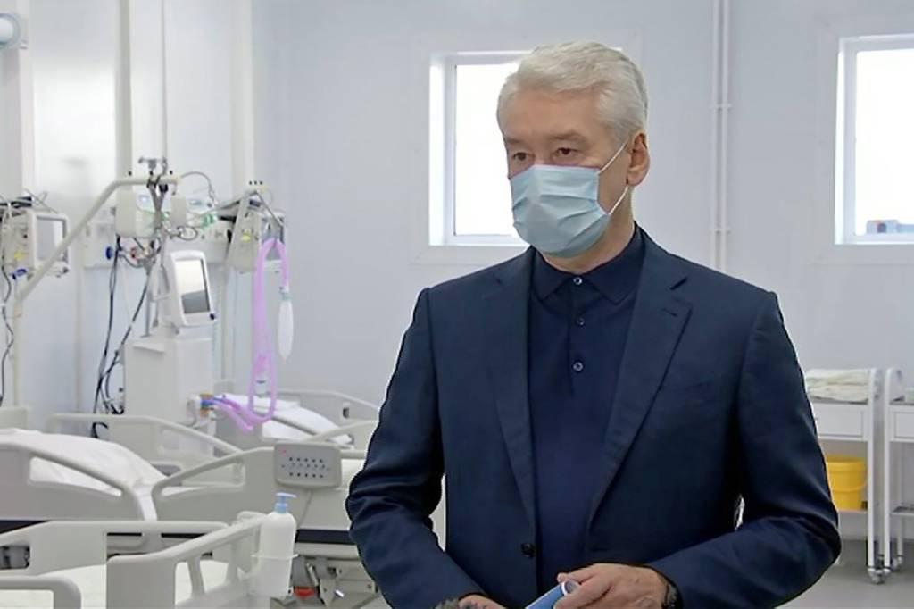 Собянин рассказал, как долго в Москве будут работать резервные ковидные госпитали
