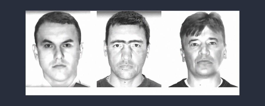 Слева направо: Савченко, Евстратов, Костомаров. Фото © Совет ветеранов центрального аппарата ОВД