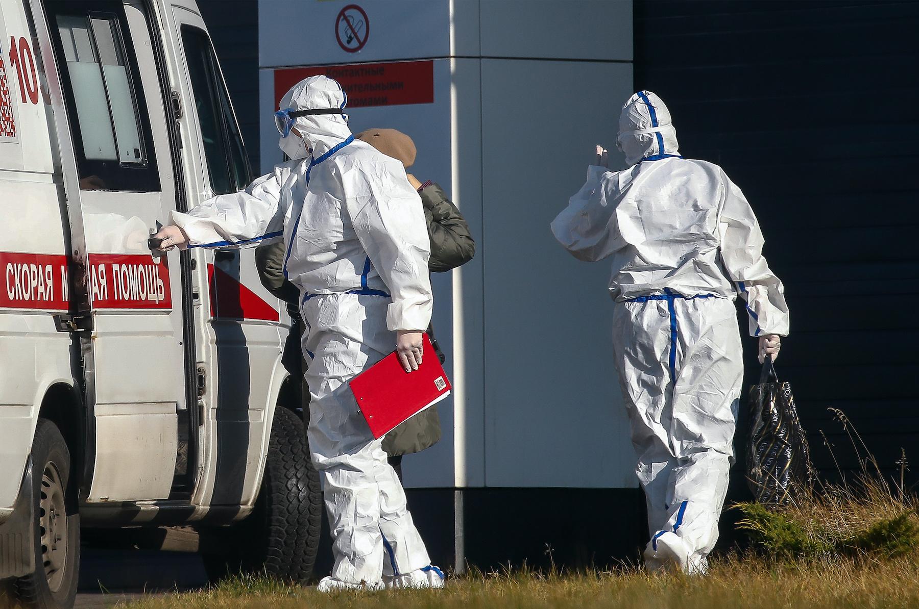 В России выявили рекордное число заражений коронавирусом за сутки