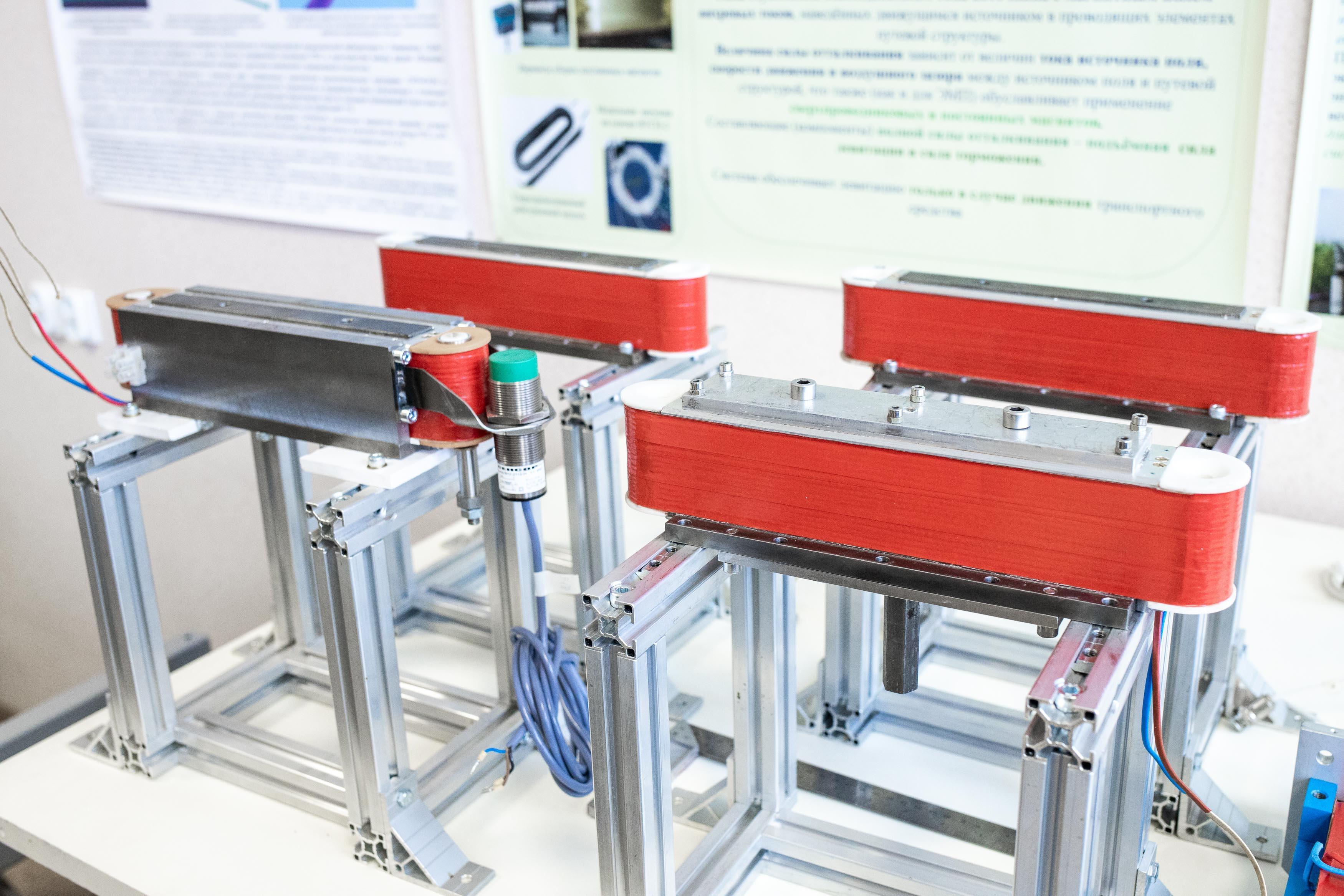 Гибридные магниты, разработанные в НИИЭФА. Фото ©LIFE / Стас Вазовски