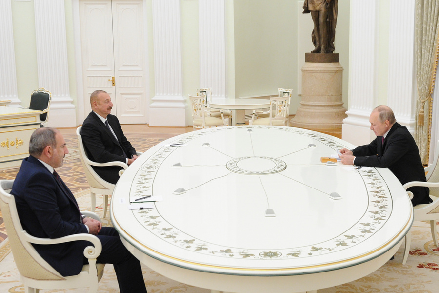 <p>Фото © ТАСС / Пресс-служба Президента РФ / Михаил Климентьев</p>