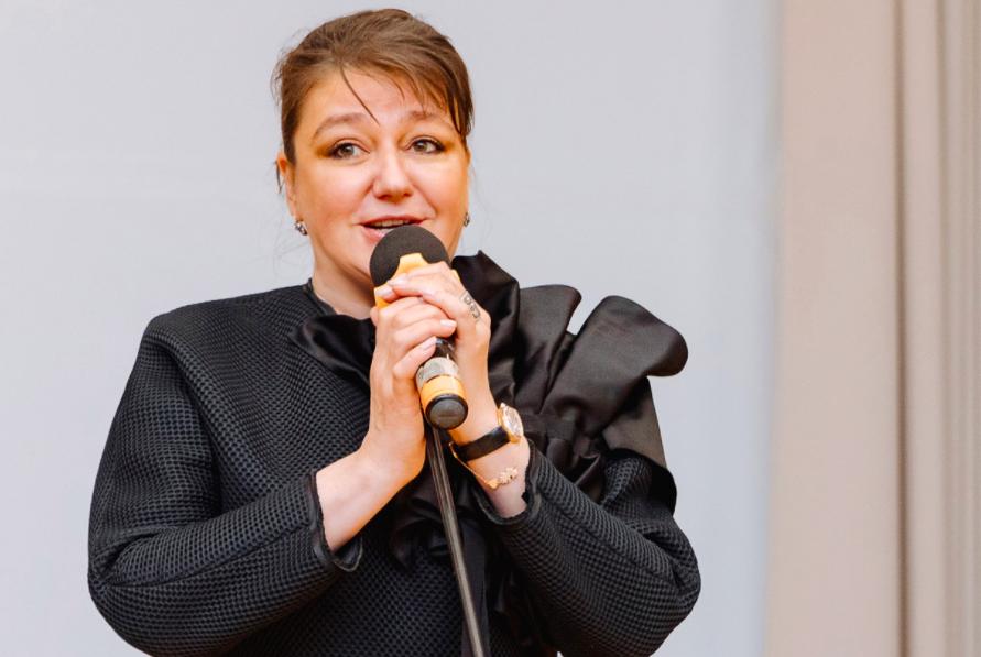 <p>Анастасия Мельникова. Фото © Законодательное Собрание Санкт-Петербурга</p>