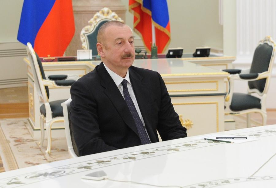 <p>Президент Азербайджана Ильхам Алиев. Фото © ТАСС / Михаил Климентьев</p>