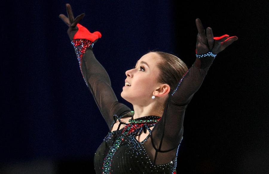 Камила Валиева — действующая чемпионка мира среди юниоров. Фото © ТАСС / Сергей Бобылев