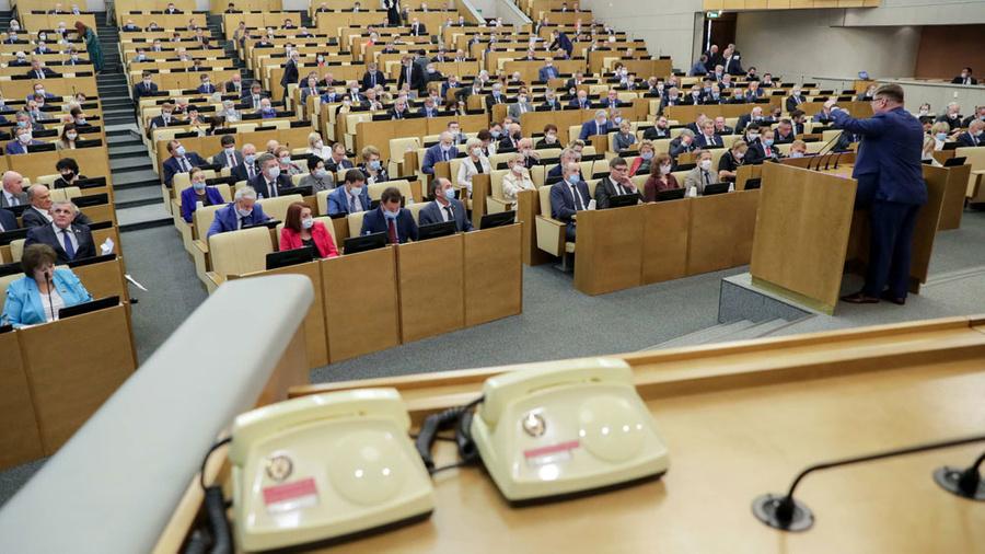 Фото © ТАСС / Пресс-служба Госдумы РФ