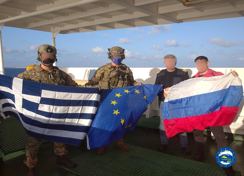 Фото © Facebook / Operation EUNAVFOR MED IRINI