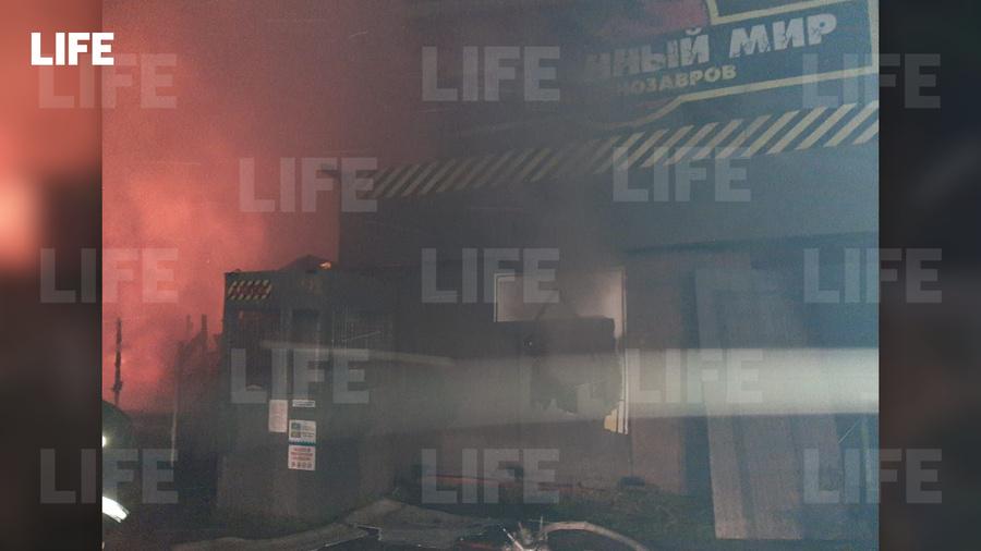 Фото c места происшествия в редакцию Лайфа прислал гражданский журналист через приложение LiveCorr (доступно на Android и iOS)