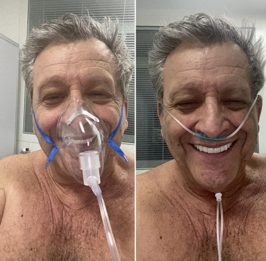Первый день в больнице: Борис Грачевский настроен оптимистично. Фото © Instagram / boris_grachevsky