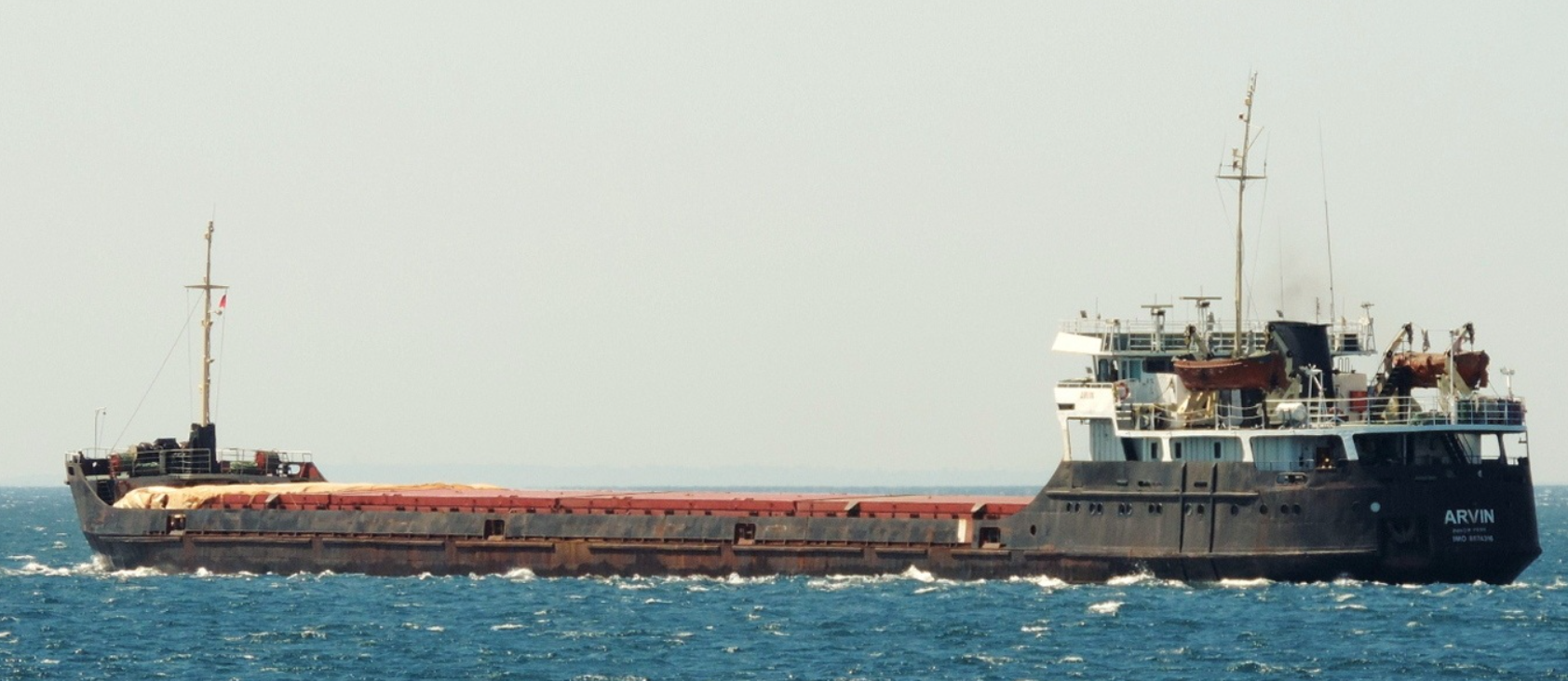 В Турции спасли пострадавшего при крушении сухогруза россиянина