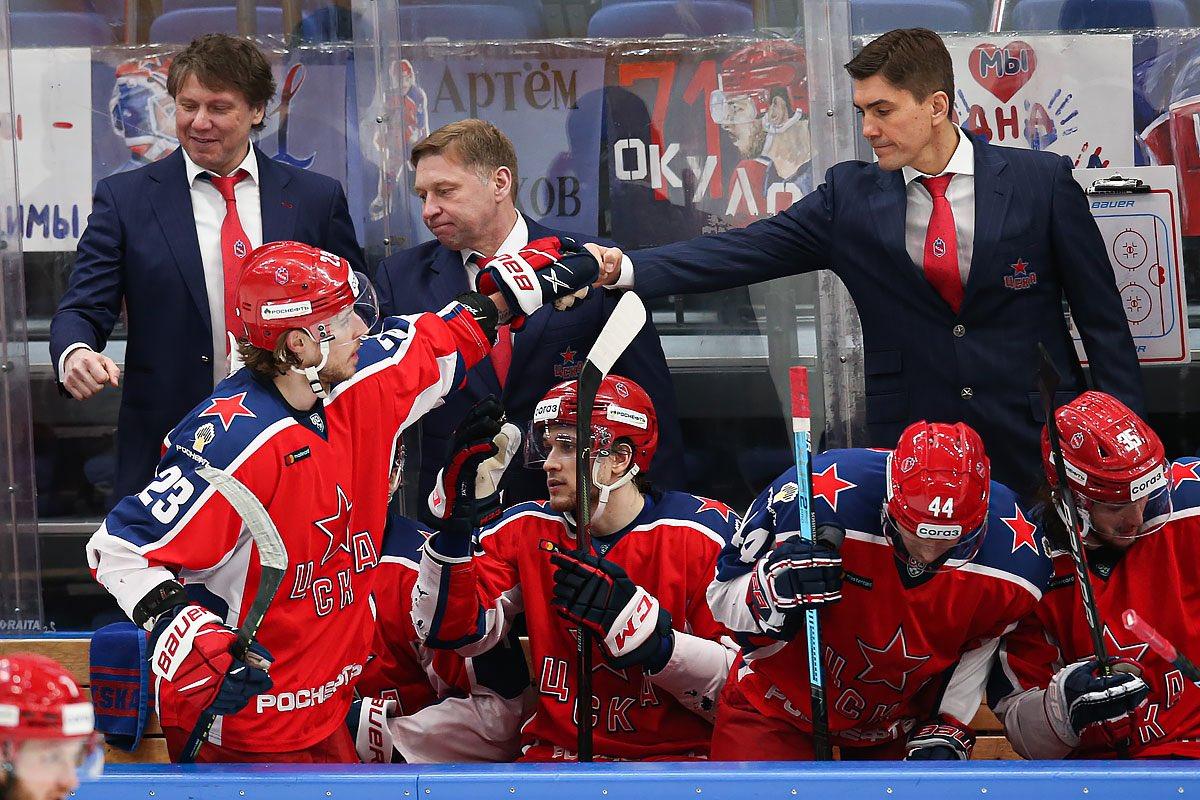 ЦСКА в третий раз обыграл СКА и увеличил отрыв от петербуржцев до 9 очков