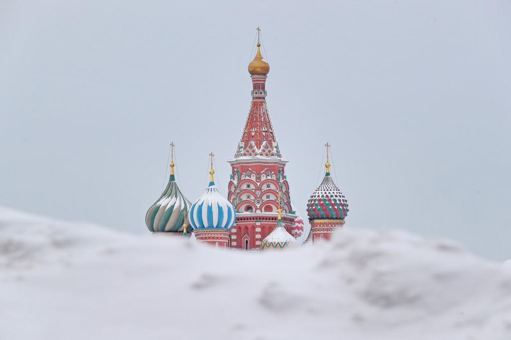 Замёрзшая столица. Прошедшая ночь в Москве стала самой холодной за четыре года