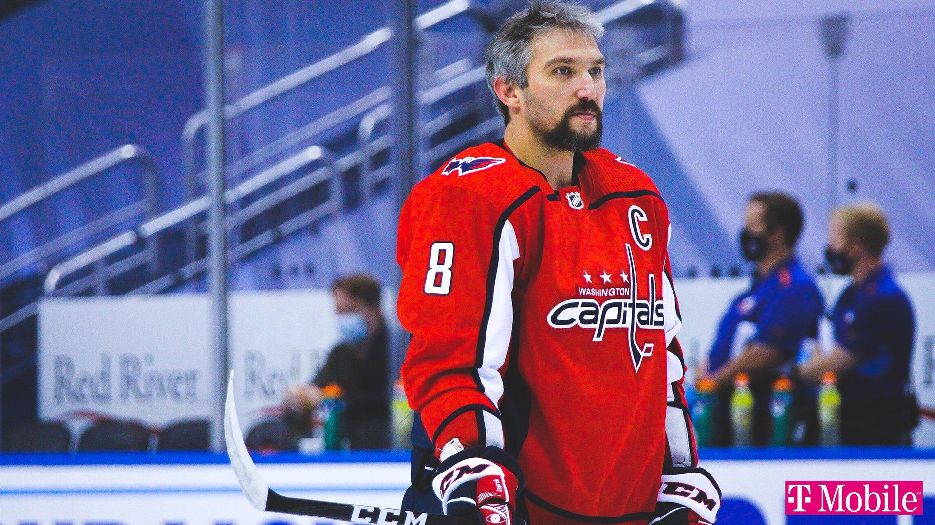 """Овечкин отстранён от игр в НХЛ и тренировок в составе """"Вашингтона"""""""