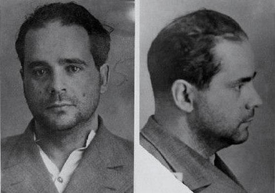 Владимир Киршон. Фото из следственного дела, 1937 год