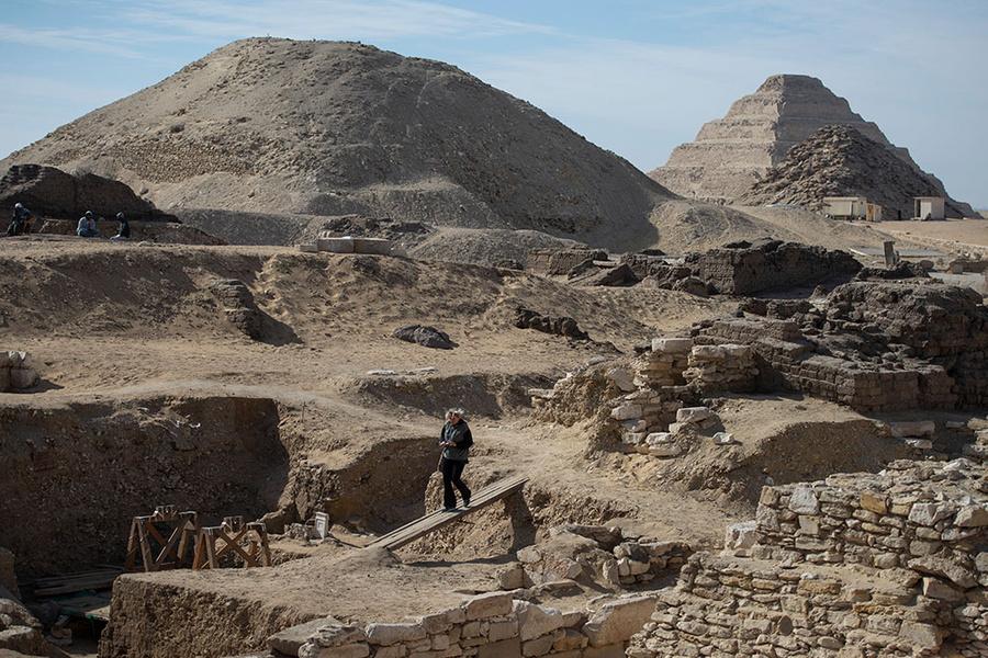 Пирамида Тети. Фото © ТАСС / EPA / Mohamed Hossam
