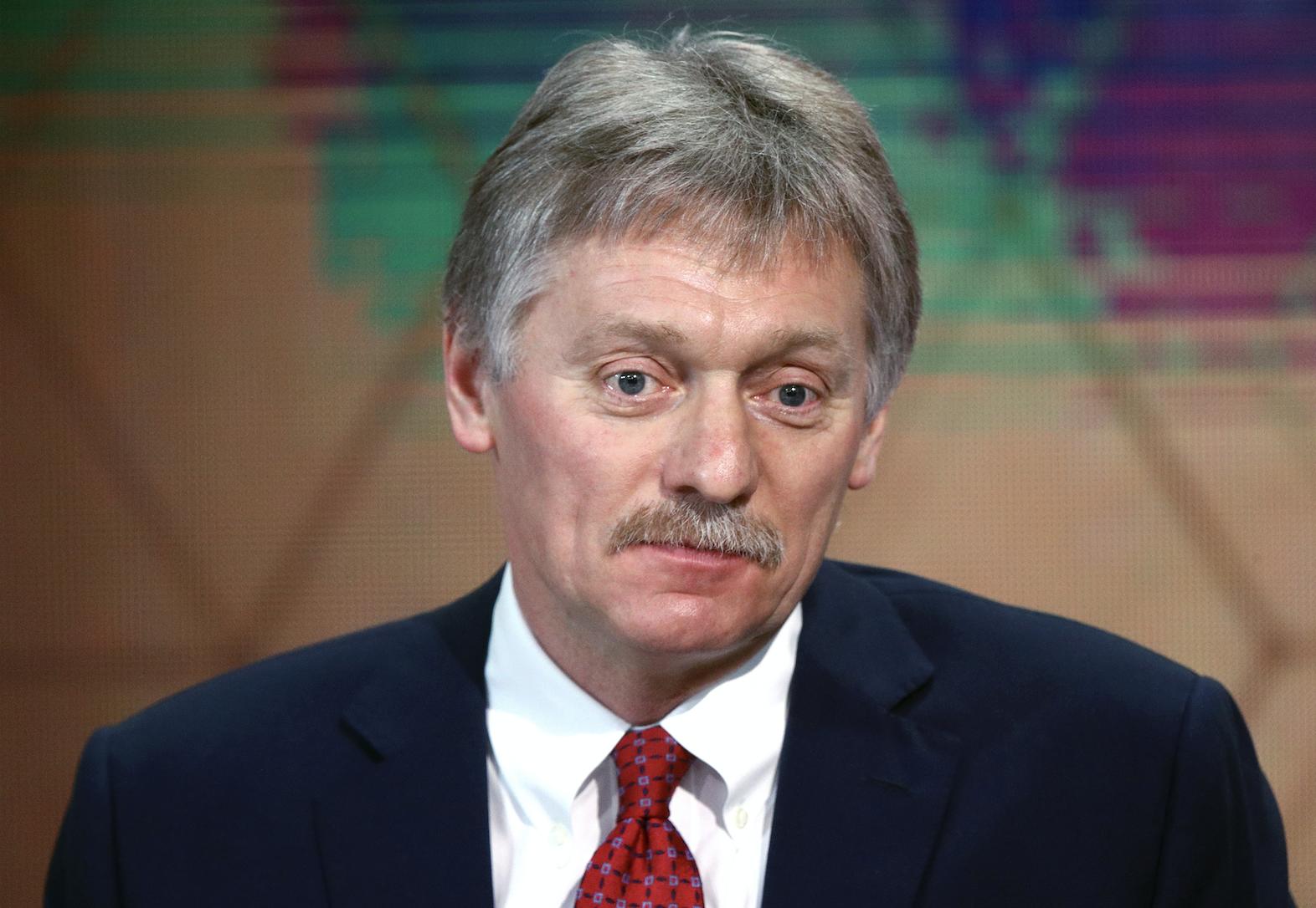 """Песков назвал """"качественной клюквой"""" расследование Навального о """"дворце Путина"""""""