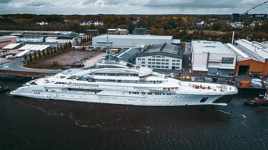 Яхта Nord, 142 м, владелец — бизнесмен Алексей Мордашов. Фото © Wikimedia Commons