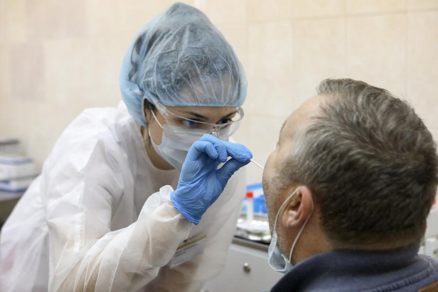 В России за сутки выявили менее 11 тысяч случаев коронавируса