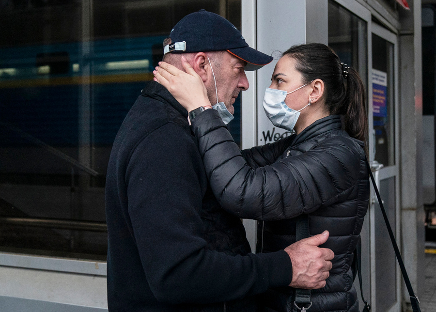 <p>Фото © ТАСС / AP Photo / Evgeniy Maloletka</p>