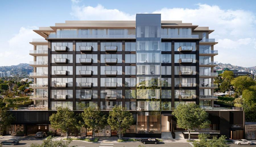 Достраивающийся многофункциональный комплекс в Лос-Анджелесе: у Serguie A Veremeenko здесь арендована коммерческая недвижимость начиная с 2011 года и до сих пор. Фото © Livabl