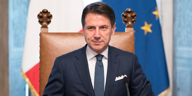 "<p>Джузеппе Конте. Фото © <a href=""http://www.governo.it/it/ministri-e-sottosegretari"" target=""_blank"" rel=""noopener noreferrer"">Правительство Италии</a></p>"