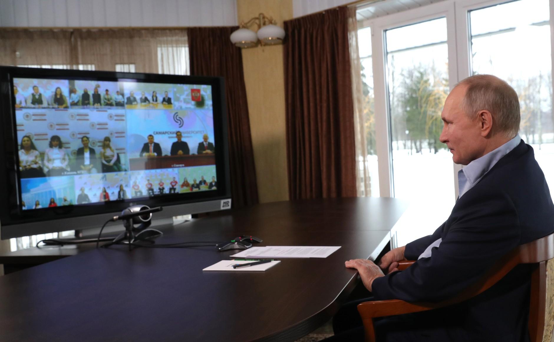 Путин рассказал, чем может заняться после президентства