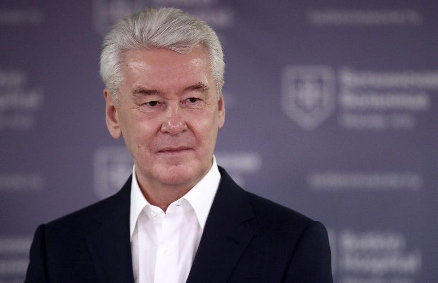Собянин заявил, что эпидемия коронавируса в Москве пошла на спад