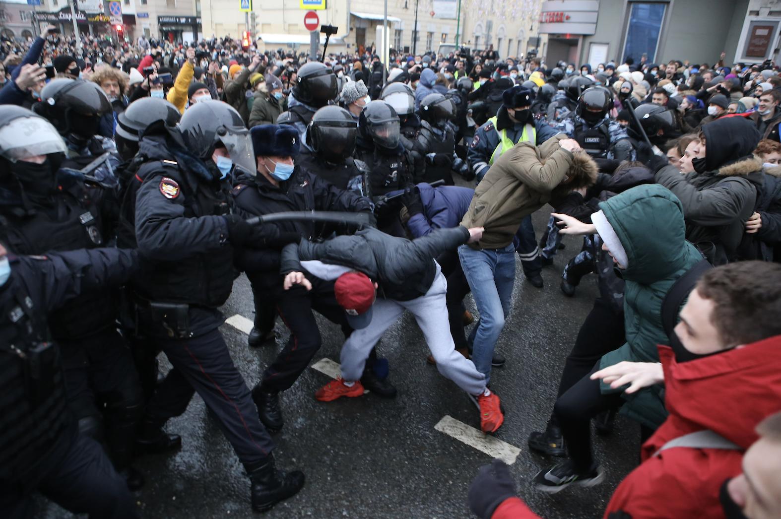 СКР сообщил о расследовании 21 уголовного дела после незаконных акций 23 января