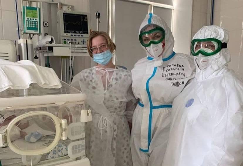 Челябинские врачи спасли беременную пациентку с коронавирусом и полным поражением лёгких