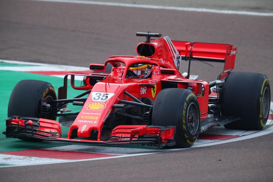 Роберт Шварцман на тестах Ferrari во Фьорано. Фото © Zuma / TASS / Federico Basile